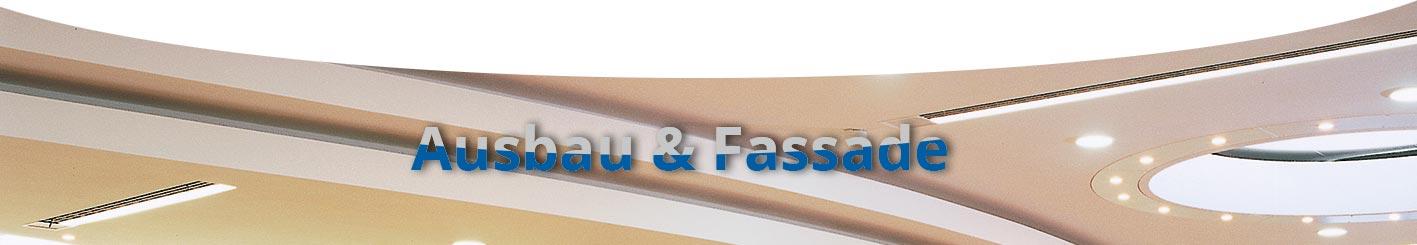 Ausbau und Fassade - Stuckateur Nees