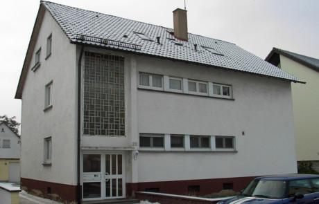 Fassadenanstrich vorher