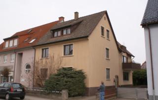 Stuckateur-Nees-Fassade vorher